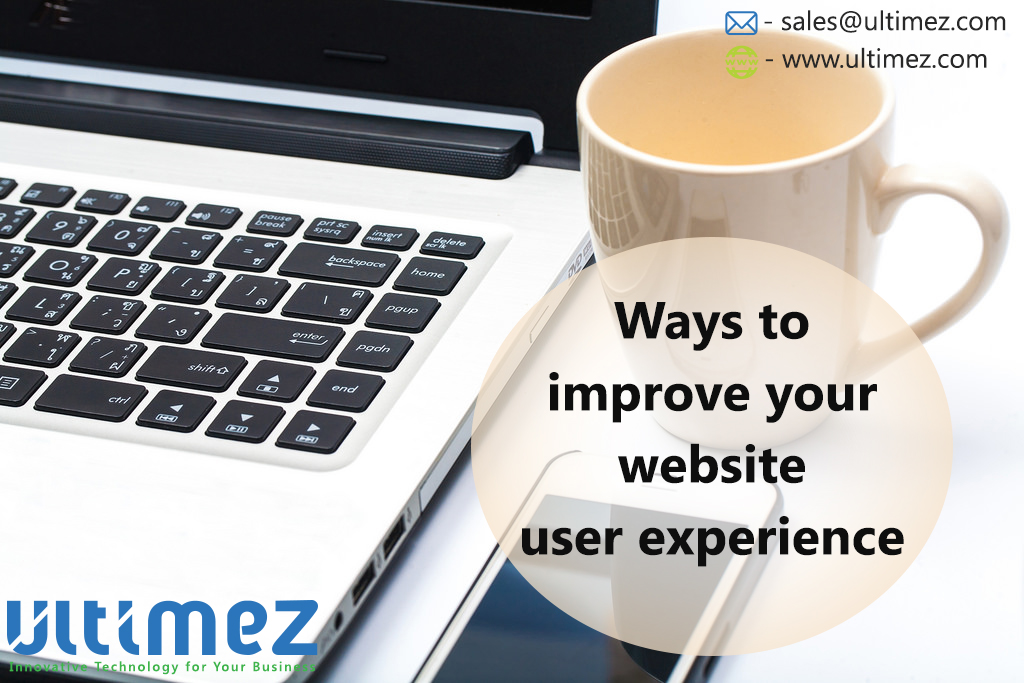 Ways to Improve your Website User Experience