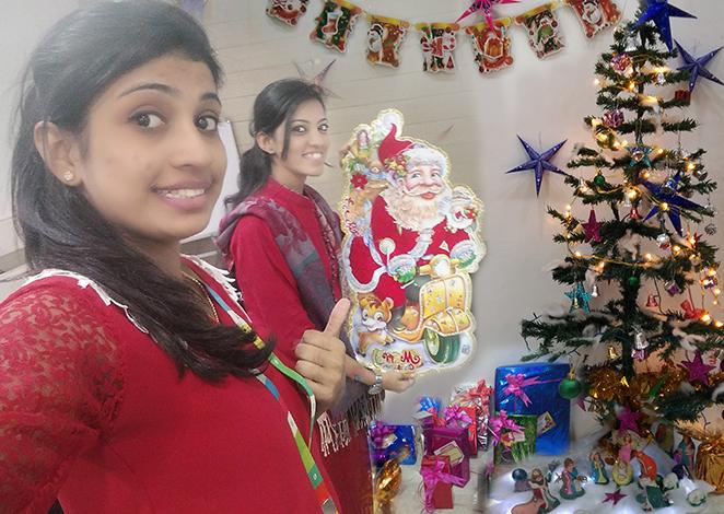 Christmas Day - tree