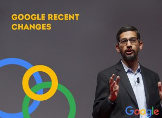 Google recent changes
