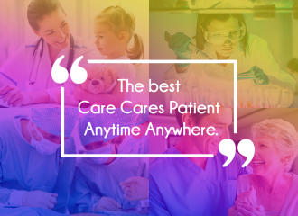 The best care cares patient anytime anywhere