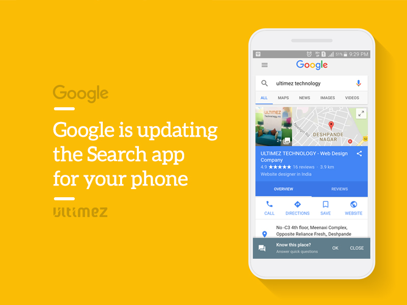 Google is updating search Apps for Phone
