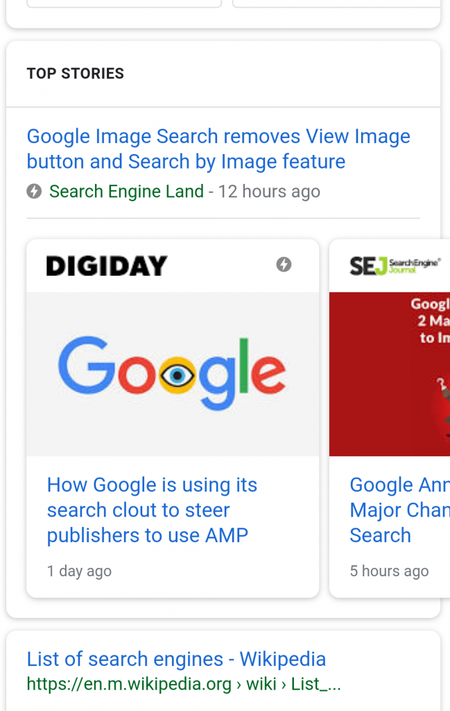 """AMP Stories"" for the Mobile Web"