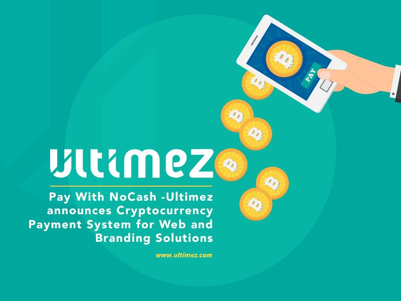 Ultimez Now Accepts Cryptocurrency Payment for Web Services
