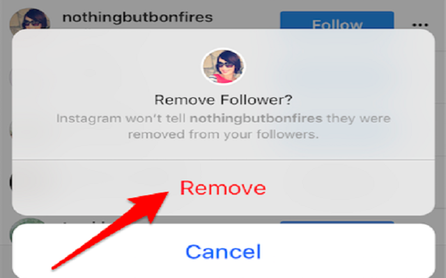 Instagram testing feature to remove followers from public accounts