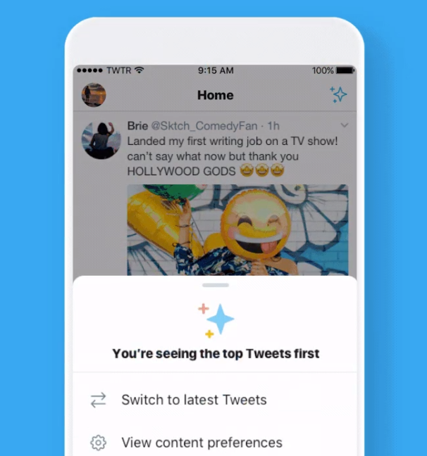 Twitter is testing a home-screen button