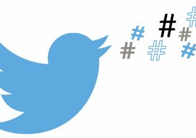 Twitter hashtag update
