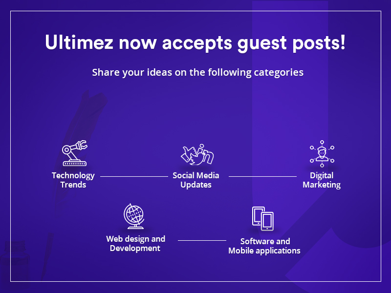 Become a Contributor for Ultimez and Share Your Best Ideas