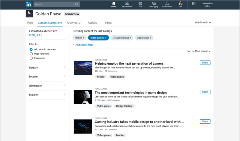 Upcoming Features of LinkedIn