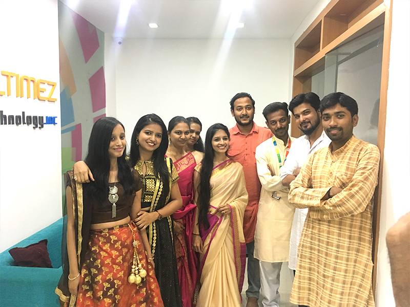 diwali celebration at office