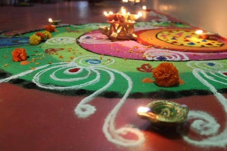 events for diwali in office