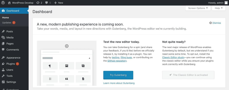latest WordPress version