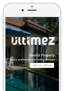 Mobile Friendly House Rent Application